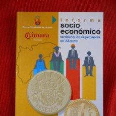 Libros de segunda mano: INFORME SOCIO ECONOMICO TERRITORIAL DE LA PROVINCIA DE ALICANTE . Lote 164791929