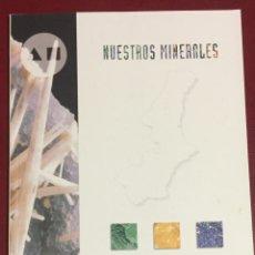 Libros de segunda mano: MURCIA- MINERALES REGION DE MURCIA- NUESTROS MINERALES- CAM. Lote 112630259