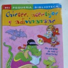 Libros de segunda mano: CHISTES, ACERTIJOS Y ADIVINANZAS. Lote 102773643