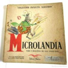 Libros de segunda mano: MICROLANDIA VIDA HAZAÑAS INSECTOS ALBATROS PARÍS CASTELLANO PARA MÉXICO 1946 ENTOMOLOGÍA ILUSTRADO. Lote 102782711