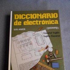 Libros de segunda mano: DICCIONARIO DE ELECTRONICA. Lote 102814795