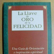 Libros de segunda mano: LA LLAVE DE ORO DE LA FELICIDAD / MASAMI SAIONJI / 1997. Lote 195072130
