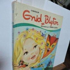 Libros de segunda mano: CUENTOS DE ENID BLYTON ILUSTRADOS POR CARMEN GUERRA. TOMO 12. ED. TORAY. BARCELONA 1985. 2ª EDICIÓN. Lote 102856703