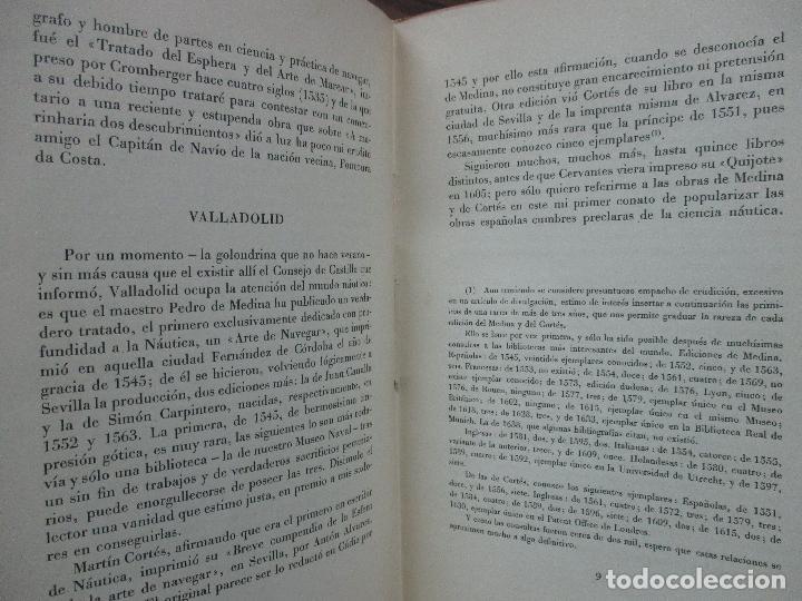Libros de segunda mano: EUROPA APRENDIÓ A NAVEGAR EN LIBROS ESPAÑOLES. JULIO F. GUILLÉN Y TATO. 1943. - Foto 4 - 102936267