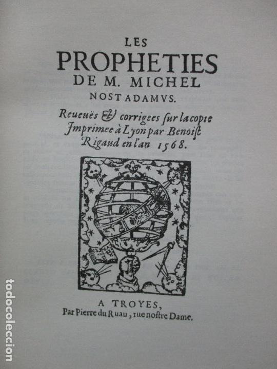 Libros de segunda mano: NOSTRADAMUS. M.U. IVELINE. 1973. - Foto 3 - 103021031