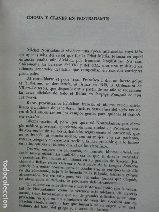 Libros de segunda mano: NOSTRADAMUS. M.U. IVELINE. 1973. - Foto 4 - 103021031