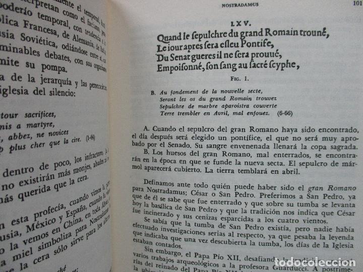 Libros de segunda mano: NOSTRADAMUS. M.U. IVELINE. 1973. - Foto 6 - 103021031