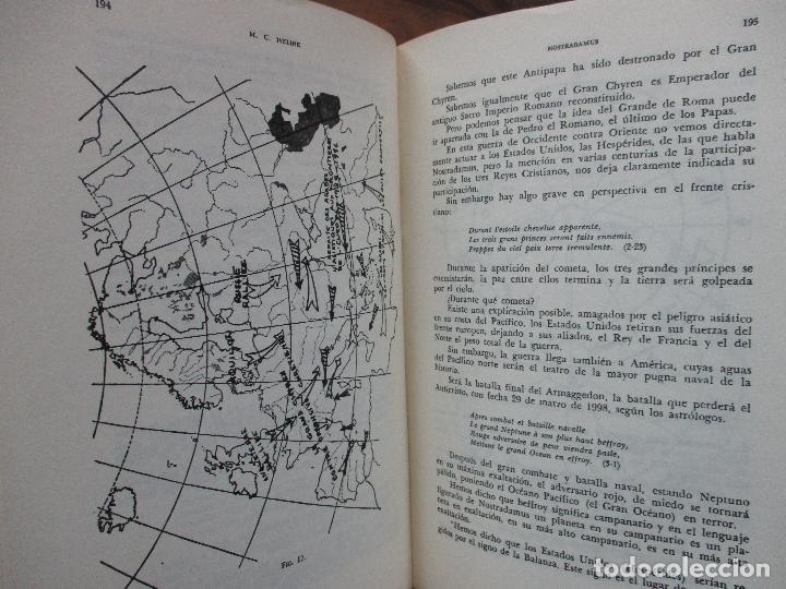 Libros de segunda mano: NOSTRADAMUS. M.U. IVELINE. 1973. - Foto 10 - 103021031