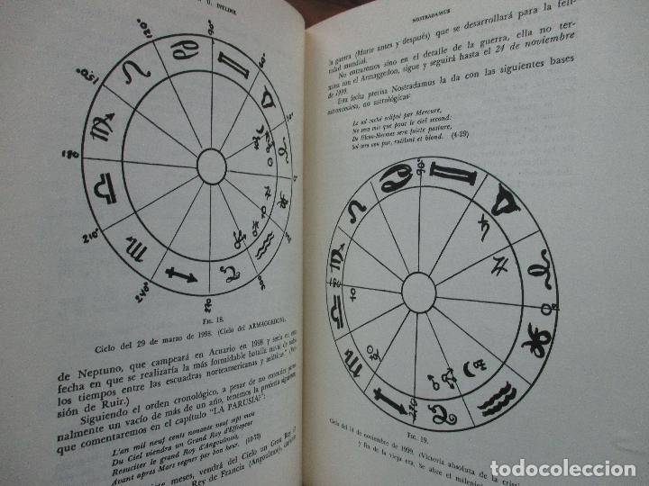 Libros de segunda mano: NOSTRADAMUS. M.U. IVELINE. 1973. - Foto 11 - 103021031