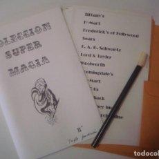 Libros de segunda mano: LIBRERIA GHOTICA. COLECCION SUPER MAGIA. 1980. TRIPLE PREDICCION. INCLUYE JUEGO. FOLIO MENOR.. Lote 103051607