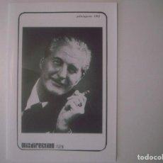 Libros de segunda mano: LIBRERIA GHOTICA. REVISTA ILUSIONISMO MISDIRECTION. JULIO-AGOSTO 1992.INCLUYE CARTA. ILUSTRADO.MAGIA. Lote 103052035