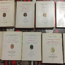 Libros de segunda mano: LA MINERIA HISPANA E IBEROAMERICANA- LEON 1.970- VI CONGRESO INTERNACIONAL DE MINERIA- COMPLETO. Lote 102600371