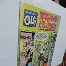 Libri di seconda mano: MORTADELO Y FILEMÓN. LA GALLINA DE LOS HUEVOS DE ORO. IBAÑEZ, FRANCISCO. COL. OLÉ! ED. EDICIONES B. . Lote 103113211