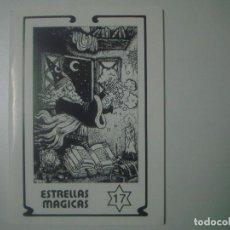 Libros de segunda mano: LIBRERIA GHOTICA. ESTRELLAS MAGICAS. NUM.17. FOLIO MENOR. DICIEMBRE 1989. MUY ILUSTRADO. MAGIA.. Lote 103122199