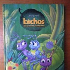 Libros de segunda mano: BICHOS UNA AVENTURA EN MINIATURA DISNEY EDITORIAL EVEREST. Lote 103146683
