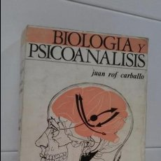 Libros de segunda mano: BIOLOGIA Y PSICOANALISIS. Lote 103186023