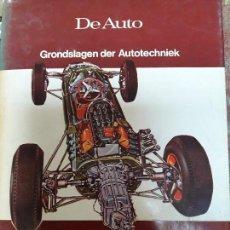 Libros de segunda mano: BONITO LIBRO MECÁNICA DEL AUTOMOVIL DE AUTO AÑOS 60. Lote 103205295
