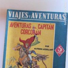 Libros de segunda mano: AVENTURAS DEL CAPITAN CORCORAN, POR ALFREDO ASSOLLANT, VIAJES Y AVENTURAS. Lote 103244035