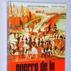 Libros de segunda mano: GUERRA DE LA INDEPENDENCIA 1808 – 1814. VOLÚMEN VI.- CAMPAÑA DE 1811 (2º PERIODO). Lote 103251383