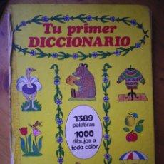 Libros de segunda mano: TU PRIMER DICCIONARIO INFANTIL SUSAETA VER FOTOS. Lote 103275475