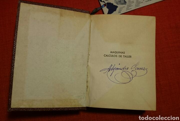Libros de segunda mano: CASILLAS.MAQUINAS. CALCULOS DE TALLER.Edición Hispano Americana 1953. - Foto 5 - 103342098