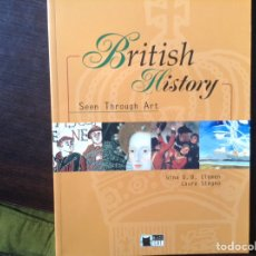 Libros de segunda mano: BRITISH HISTORY SEEN THROUGH ART. GINA D. B. CLEMENTSON. CD. Lote 103356267