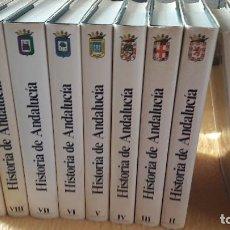 Libros de segunda mano: 9 TOMOS HISTORIA DE ANDALUCÍA. EDICIÓN 1982 PLANETA. . Lote 103387879