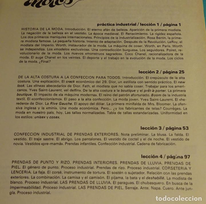 Libros de segunda mano: MÉTODO PRÁCTICO DE CORTE Y CONFECCIÓN. AFHA. VOLÚMENES I, II, III, V. FALTA VOLUMEN IV - Foto 14 - 151885353