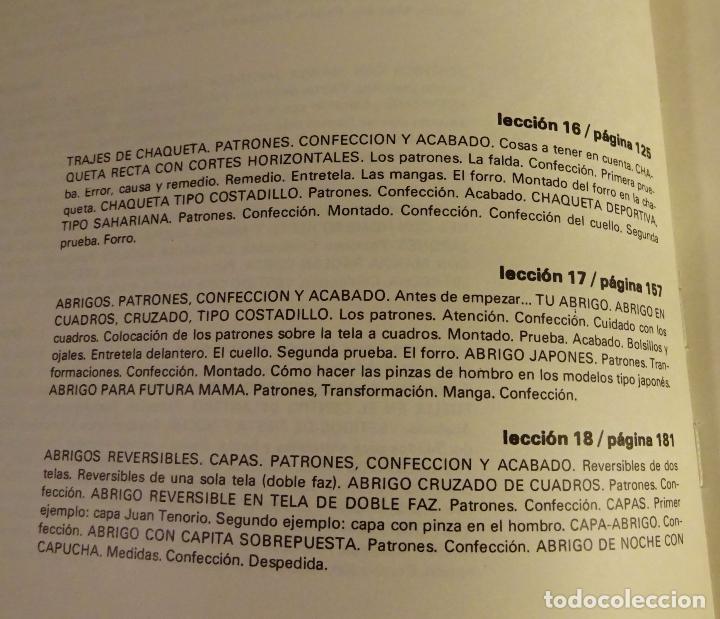 Libros de segunda mano: MÉTODO PRÁCTICO DE CORTE Y CONFECCIÓN. AFHA. VOLÚMENES I, II, III, V. FALTA VOLUMEN IV - Foto 13 - 151885353