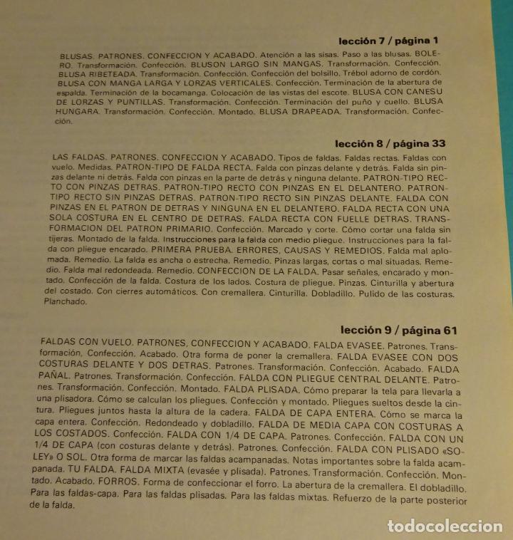 Libros de segunda mano: MÉTODO PRÁCTICO DE CORTE Y CONFECCIÓN. AFHA. VOLÚMENES I, II, III, V. FALTA VOLUMEN IV - Foto 10 - 151885353
