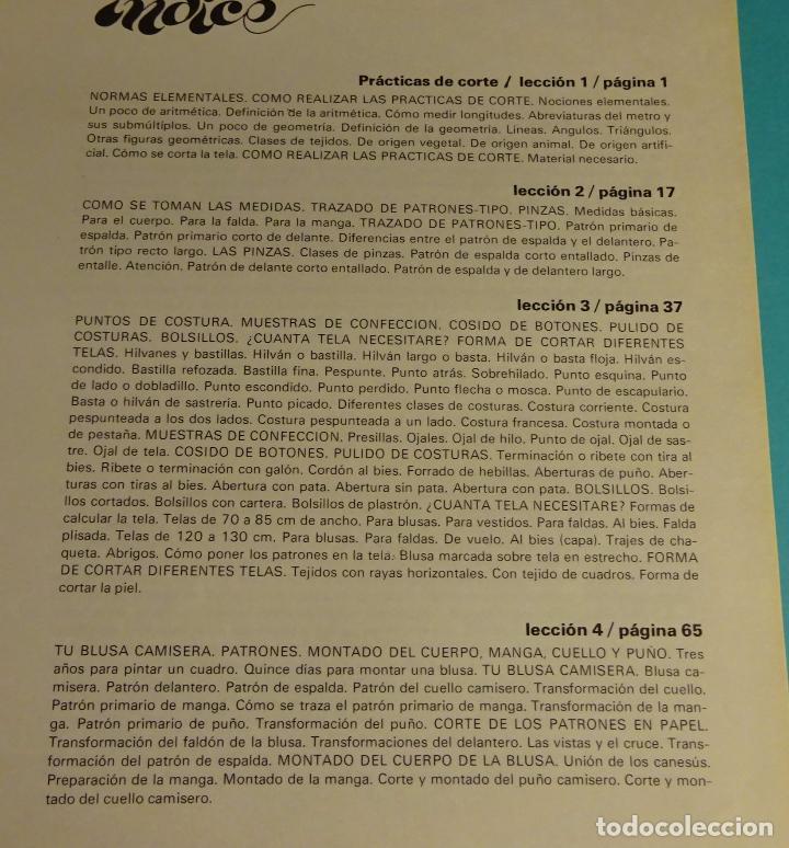 Libros de segunda mano: MÉTODO PRÁCTICO DE CORTE Y CONFECCIÓN. AFHA. VOLÚMENES I, II, III, V. FALTA VOLUMEN IV - Foto 8 - 151885353
