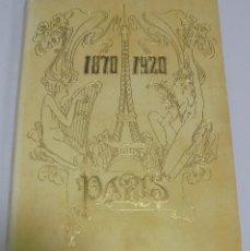 Libros de segunda mano: 1870 - 1920. PARIS. NESTOR LUJAN. COLECCION DE ARTE ROGER. LAMINAS. VER ADICIONALES. Lote 103468251