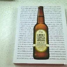 Libros de segunda mano: EL MUNDO DE LA CERVEZA ARTESANAL-SERGI FREIXES Y ALBERT PUNSOLA-N. Lote 103483391