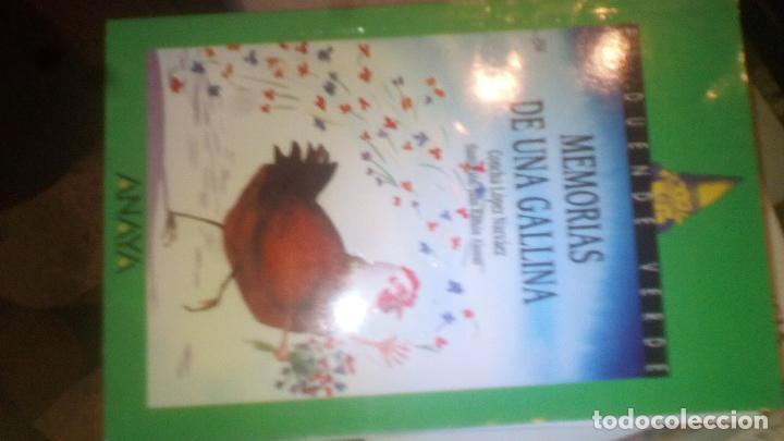 MEMORIAS DE UNA GALLINA. CONCHA LÓPEZ NAVÁEZ- ILUSTRACIÓN. RAMÓN ALONSO. B89 (Libros de Segunda Mano - Literatura Infantil y Juvenil - Otros)
