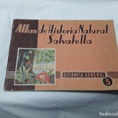 Libros de segunda mano: ATLAS HISTORIA NATURAL SALVATIERRA. Lote 103561991