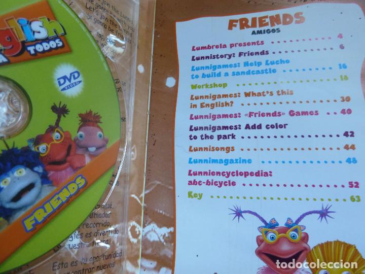 Libros de segunda mano: LUNNIS ENGLISH. FRIENDS. 1 (VIENE CON EL CD) - Foto 2 - 103569247