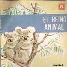 Libros de segunda mano: EL REINO ANIMAL 8. FAUNA EXÓTICA. EDITORIAL ROMA, 1968. Lote 103665987