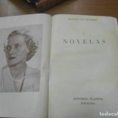 Libros de segunda mano: DAPHNE DE MAURIER NOVELAS (TOMO 1º) COLECCION CLASICOS CONTEMPORANEOS BARCELONA 1958 EDIT. PLANETA. Lote 103671255