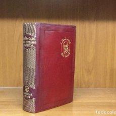Libros de segunda mano: S. RAMON Y CAJAL. OBRAS LITERARIAS COMPLETAS. ÀGUILA-JOYA. PRIMERA EDICIÓN, 1947.. Lote 103674375