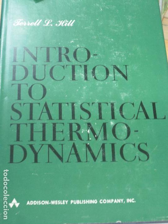 An Introduction To Statistical Thermodynamics T Sold Through Direct Sale 103687699