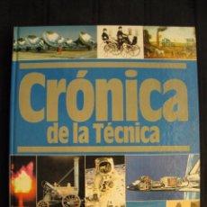 Libros de segunda mano: CRONICA DE LA TECNICA - 1820-1909 - Nº 2 - PLAZA & JANES EDITORES.. Lote 103690575