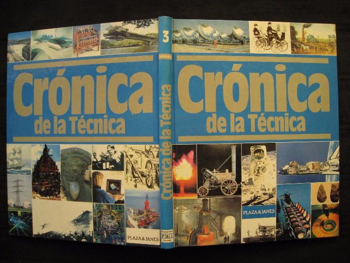 Libros de segunda mano: CRONICA DE LA TECNICA - 1910-1975 - Nº 3 - PLAZA & JANES EDITORES. - Foto 3 - 103691959