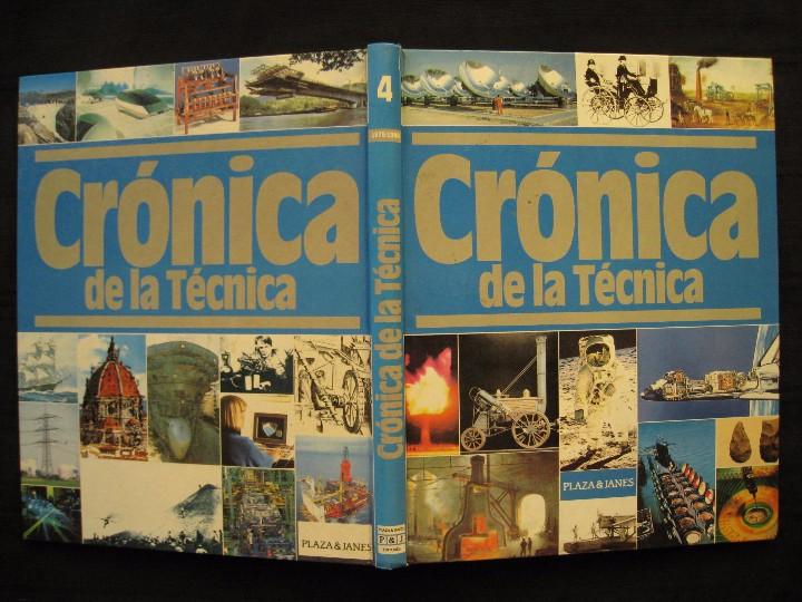 Libros de segunda mano: CRONICA DE LA TECNICA - 1975-1988 - Nº 4 - PLAZA & JANES EDITORES. - Foto 3 - 103693119