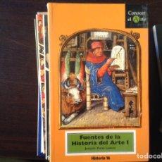 Libros de segunda mano: FUENTES DE LA HISTORIA DEL ARTE I. JOAQUÍN YARZA. Lote 179159135