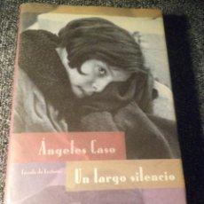 Libros de segunda mano: UN LARGO SILENCIO. Lote 103709479