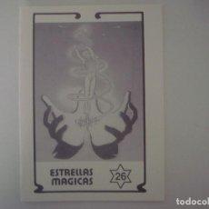 Libros de segunda mano: LIBRERIA GHOTICA. ESTRELLAS MAGICAS. 26. JUNIO 1991. ILUSTRADO. MAGIA. Lote 103756551