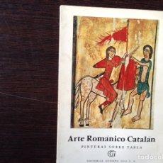 Libros de segunda mano: ARTE ROMÁNICO CATALÁN . DOS LIBROS. Lote 103757935