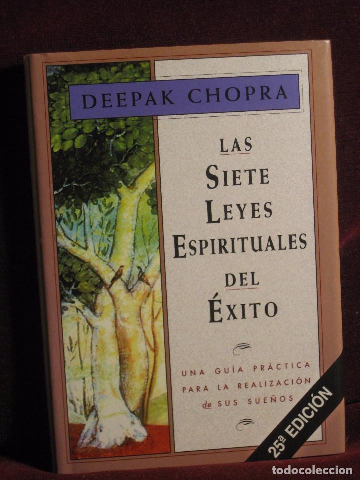 Deepak Chopra Las Siete Leyes Espirituales Del Comprar En