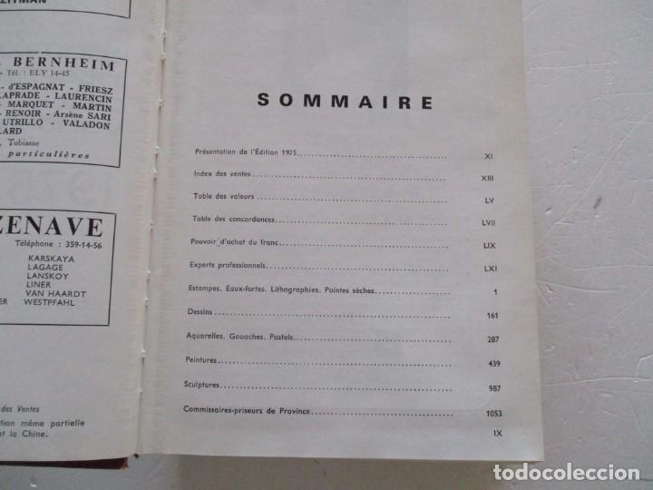 Libros de segunda mano: E. MAYER. Annuaire International des Ventes. Peinture – Sculpture. 1974. RM84420. - Foto 3 - 103769983