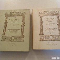 Libros de segunda mano: LUIS DE CAMOÊS. OS LUSIADAS. EDICIÓN BILINGÜE. FACSÍMIL. RM84430. . Lote 103773259